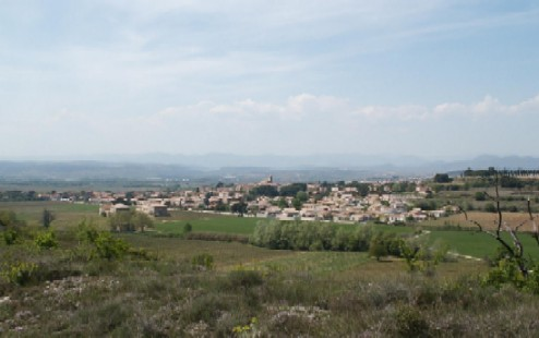 The village of Thezan les Beziers